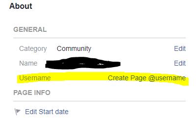 create a username