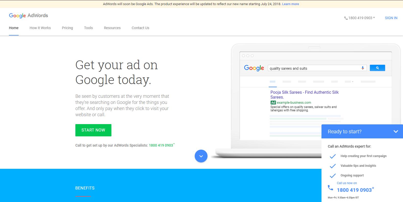google display campaign set up
