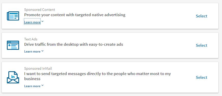 linkedin paid ads