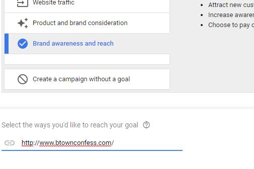 google display campaign