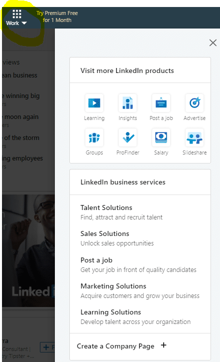 linkedin message ads